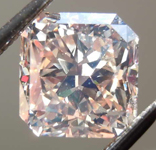 2.13ct Light Brown VS2 Radiant Cut Diamond R7923