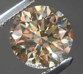2.52ct Brown SI1 Round Brilliant Diamond R7941