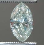 .77ct Faint Gray I1 Marquise Diamond R7937