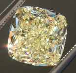 SOLD.....4.03ct Y-Z VVS2 Cushion Cut Diamond R7954
