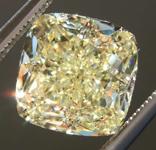SOLD.....4.03ct Y-Z VVS2 Cushion Cut Diamond R7954