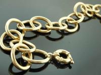 14karat Yellow Gold Bracelet R7974