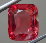 5.25ct Red Cushion Cut Spinel R7979