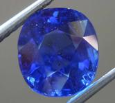 5.80ct Blue Cushion Cut Sapphire R7982