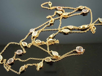 Sold.....2.73ctw Natural Fancy Colored Diamond Necklace R7524