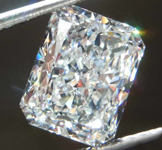 SOLD....2.56ct G SI1 Radiant Cut Diamond R8008
