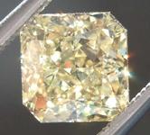 SOLD.......1.50ct Yellow VS1 Radiant Cut Diamond R8002