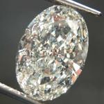 SOLD....3.01ct K SI2 Oval Diamond R8013