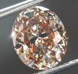SOLD....1.69ct Yellowish Brown SI2 Oval Diamond R8027
