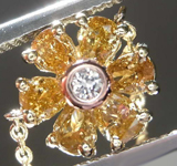 .46ctw Fancy Colored Diamond Necklace R8010