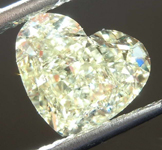 SOLD.....2.31ct Light Yellow SI1 Heart Diamond R8033