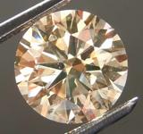 2.24ct Brown SI2 Round Brilliant Diamond R8091