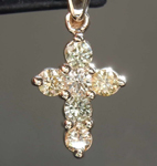 .43ctw Yellow Diamond Pendant R8106