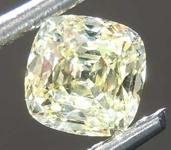 SOLD.....71ct Yellow IF Cushion Cut Diamond R8126