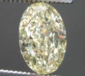 2.01ct Light Yellow VS2 Oval Diamond R8144