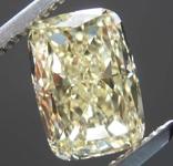 2.21ct Light Yellow VS1 Cushion Cut Diamond R8146