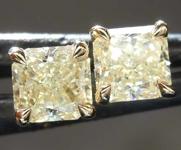 .82ctw Y-Z Radiant Cut Diamond Earrings R8117