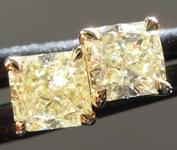 .96ctw Y-Z Radiant Cut Diamond Earrings R8118