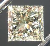 1.00ct U-V SI1 Princess Cut Diamond R8159