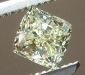 SOLD...0.64ct W-X VS1 Cushion Cut Diamond R8182