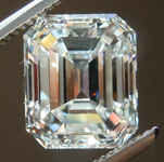 3.53ct I VVS2 Emerald Cut Diamond R8377