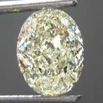 SOLD....1.70ct Yellow IF Oval Shape Diamond R8422
