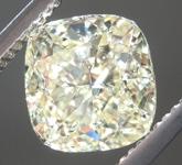 SOLD....2.00ct W-X VS1 Cushion Cut Diamond R8424
