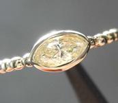 SOLD....0.33ct U-V VS1 Marquise Diamond Ring R8408