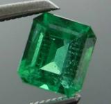 SOLD.....0.49ct Emerald Cut Emerald R8459