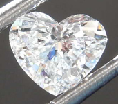 SOLD....0.53ct G SI2 Heart Shape Diamond R8495