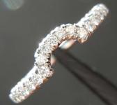 SOLD....0.39ctw E-F VS Round Brilliant Diamond Ring R6459
