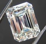 SOLD.....3.03ct K VS2 Emerald Cut Diamond R8506