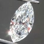 1.14ct G SI2 Marquise Diamond R8529