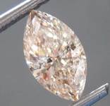 SOLD...1.02ct Light Brown I1 Marquise Diamond R8543