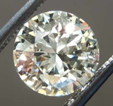 SOLD...1.21ct M VS1 Round Brilliant Diamond R8569