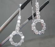 1.18ctw E-F VS Round Brilliant Diamond Earrings R8558