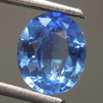 SOLD....1.23ct Blue Oval Shape Sapphire R8599