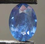 1.16ct Blue Oval Shape Sapphire R8595