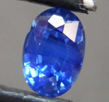 SOLD...1.01ct Blue Oval Shape Sapphire R8592
