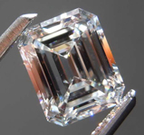 SOLD....1.15ct G IF Emerald Cut Diamond R8609