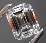 SOLD....1.15ct G IF Emerald Cut Diamond R8609