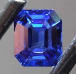 SOLD.....1.43ct Blue Emerald Cut Sapphire R8644