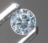 SOLD.....0.09ct Faint Green SI1 Round Brilliant Diamond R8483