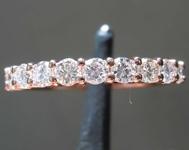 SOLD...0.59ctw H-I VS Round Brilliant Diamond Ring R8499