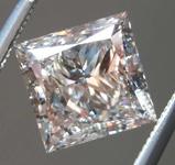 2.01ct Pink I1 Princess Cut Diamond R8671