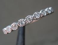SOLD...0.17ctw G VS Single Cut Diamond Band R8628