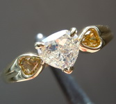 SOLD....0.82ctw Heart Shape Diamond Ring R8624