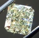 SOLD.....1.56ct Y-Z VS2 Radiant Cut Diamond R8690