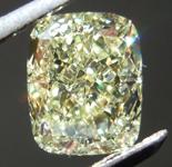 SOLD.....1.50ct Yellow VS1 Cushion Cut Diamond R8717