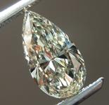 SOLD....0.95ct N VS1 Pear Shape Diamond R8740